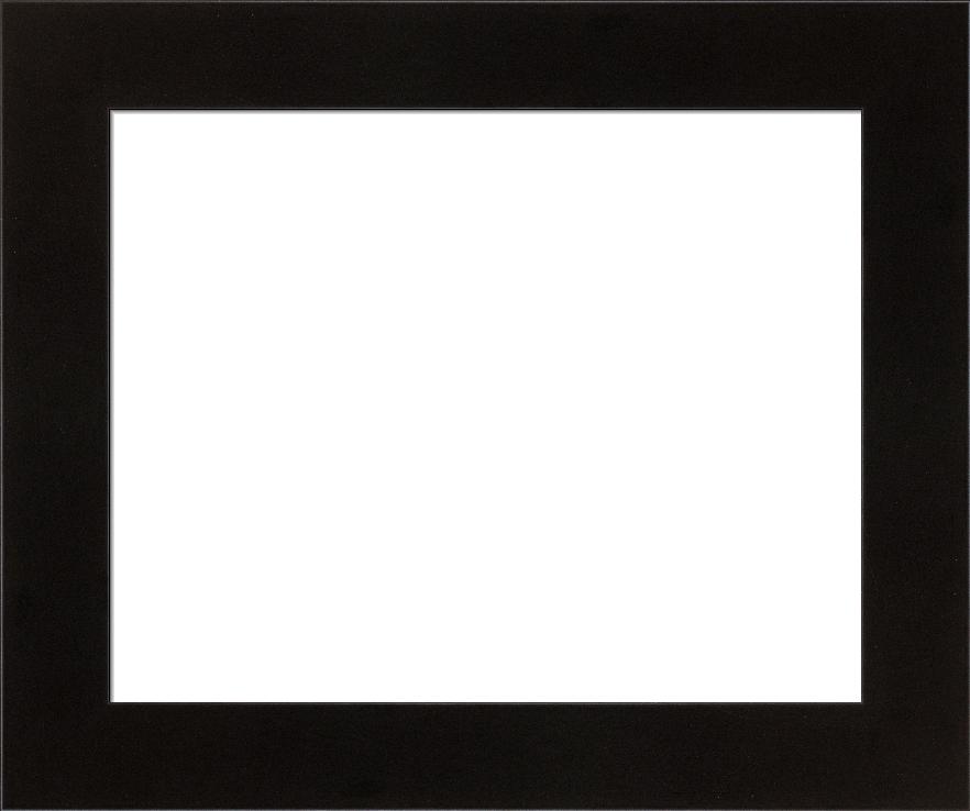 Modern Black Block Frame Contempo I FramedIt