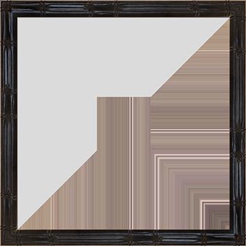 Panda_Black_Bamboo_Style_Frame_10x10