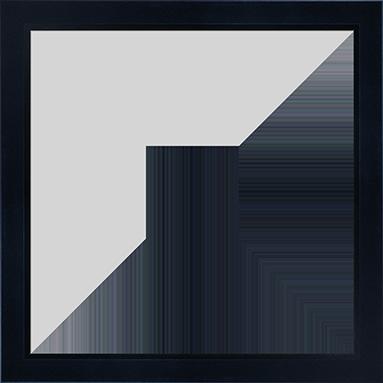 Pitch_Beveled_Lip_Black_Frame_10x10