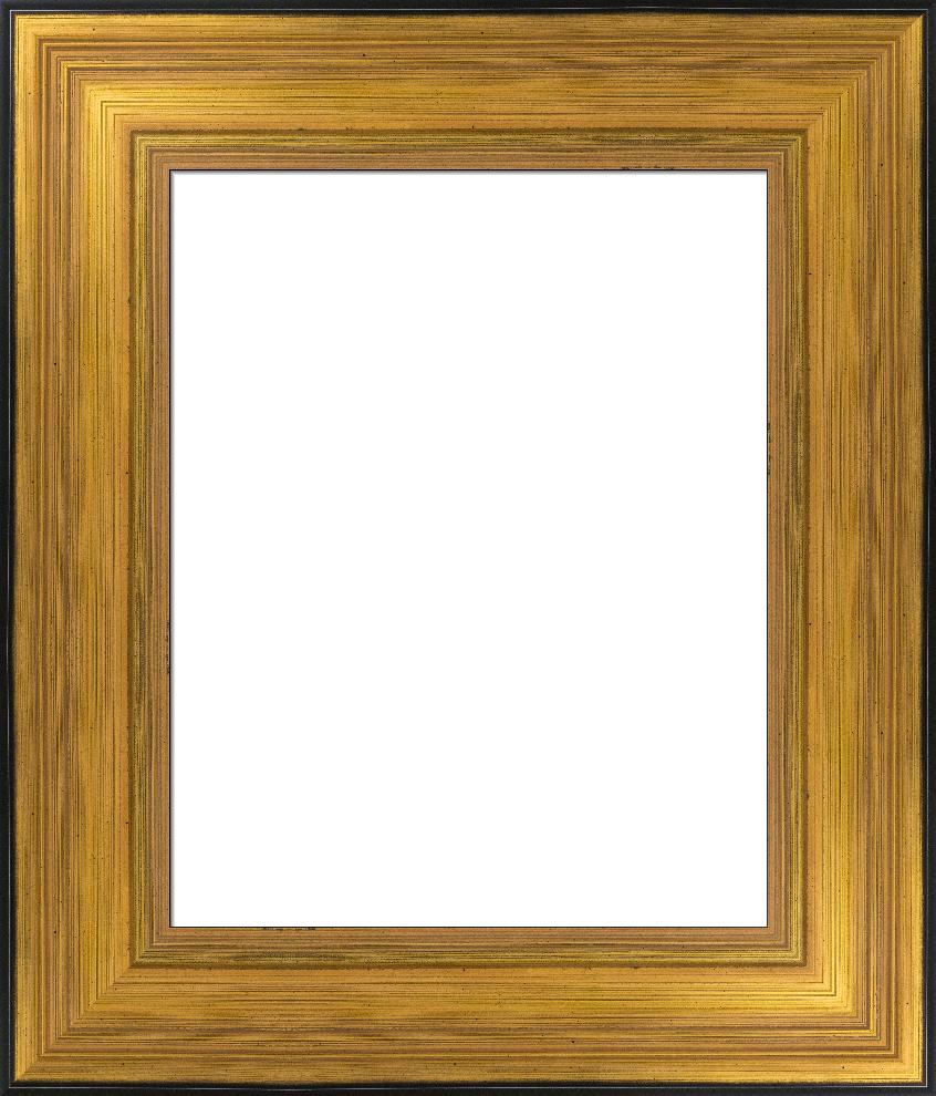Thick Antique Gold Frame, Relic Custom Frame I FramedIt