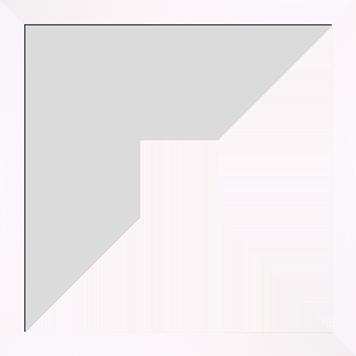 Snow_Slim_White_Frame_10x10