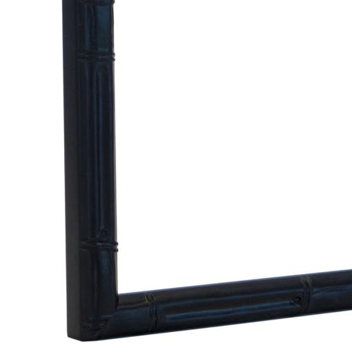 Panda Black Bamboo-Style Frame