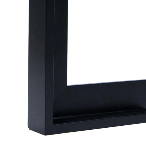 Vogue Black Canvas Floater Frame