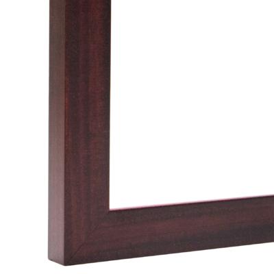 Banister Flat Mahogany Frame
