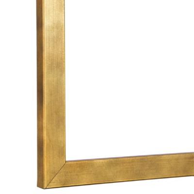 Gallery Gold, Slim Brushed Gold Frame