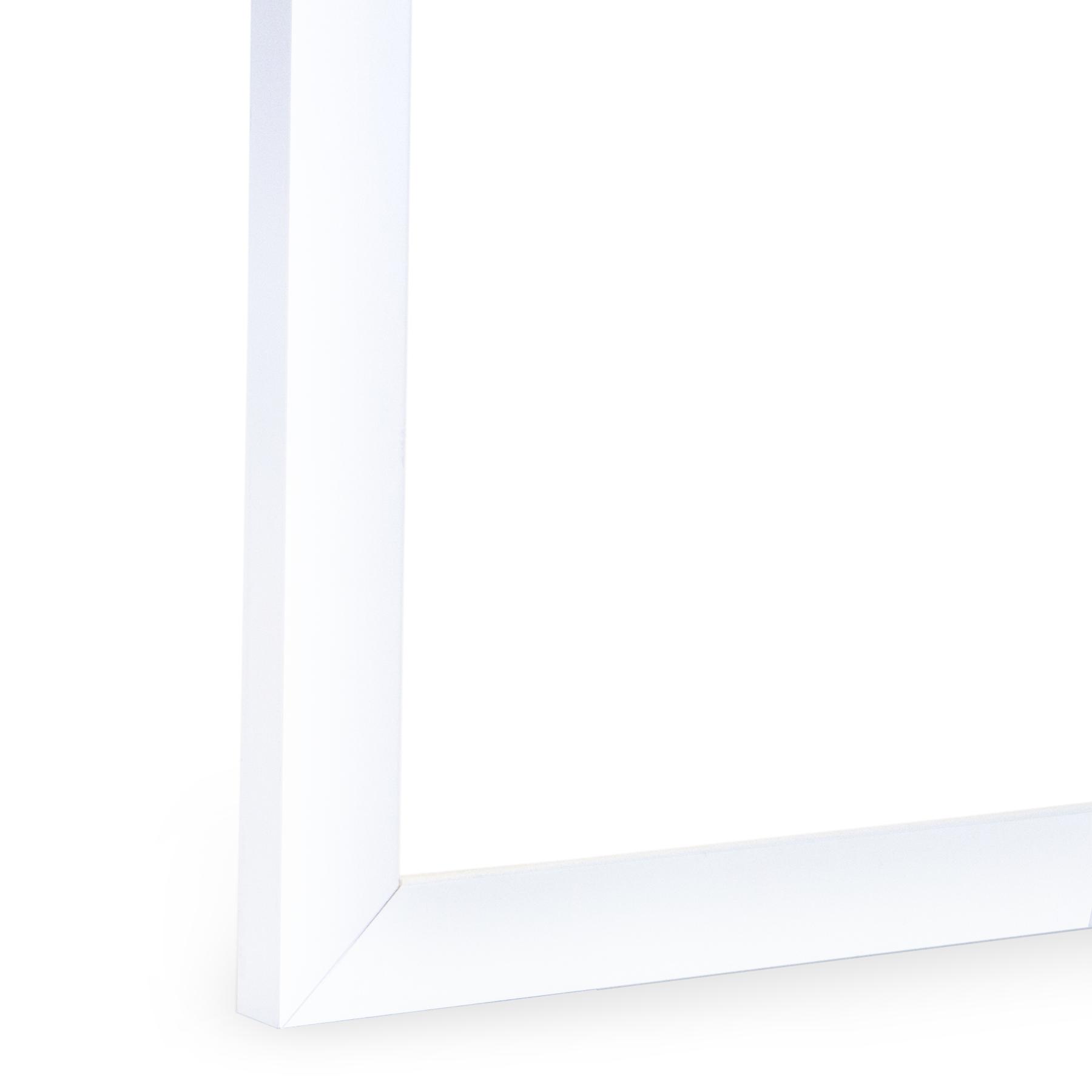 Low Profile White Frame, Gallery White Instagram Frame I FramedIt