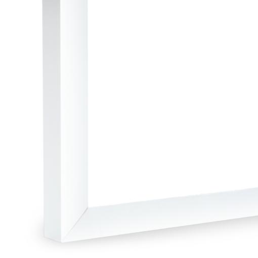 Intrigue Slim Pickled White Frame