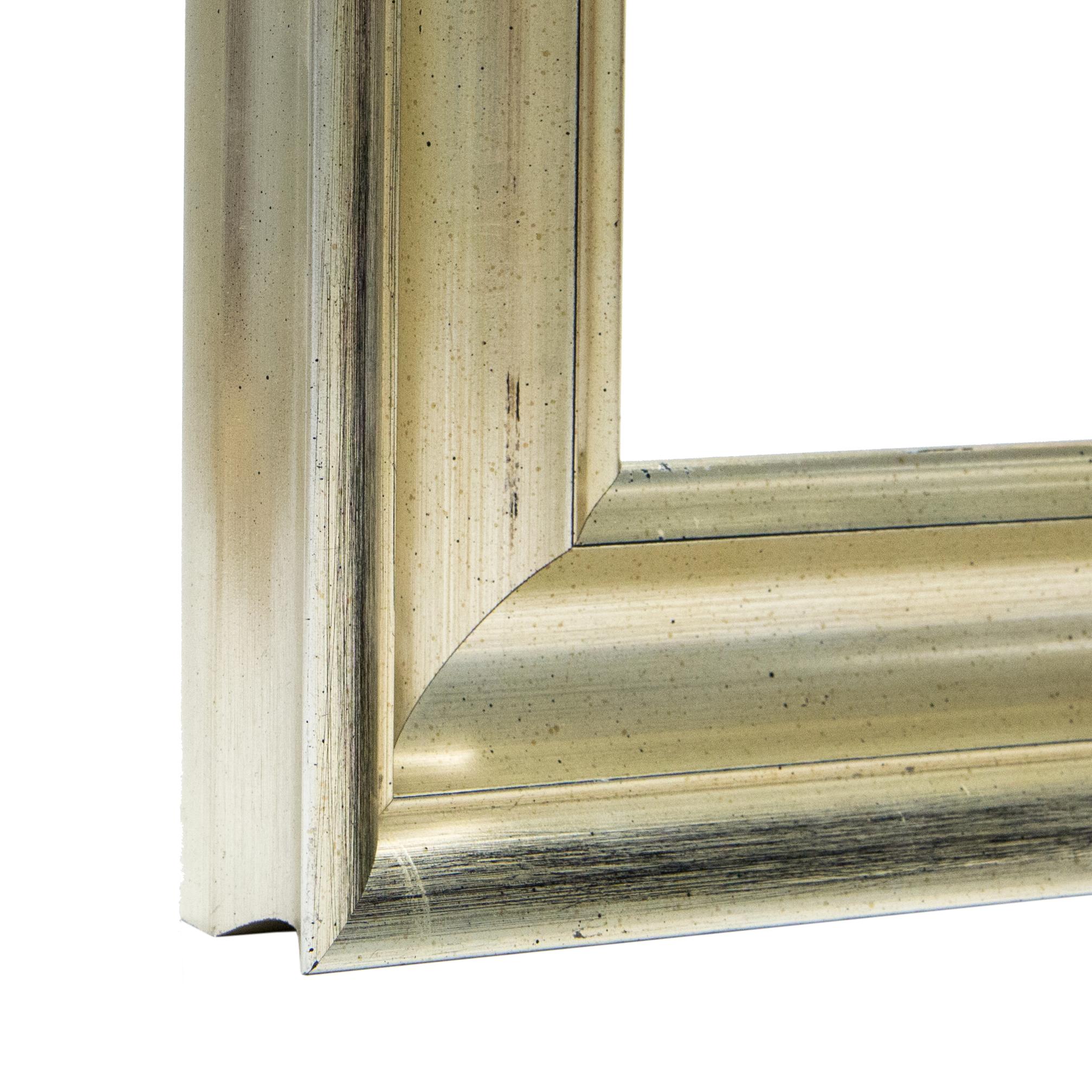 Lux Custom Clean Silver Frame