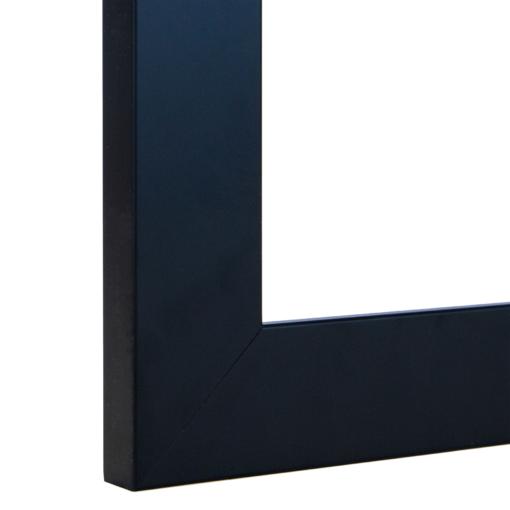 Obsidian Wide Modern Black Frame