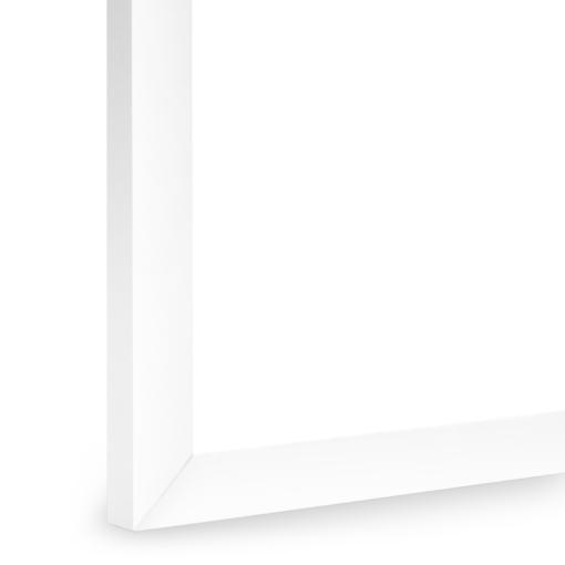 Snow Slim White Frame