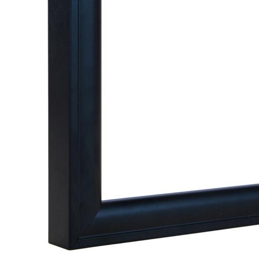 Urbane Modern Black Rounded Frame